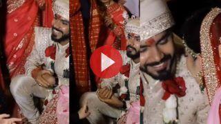 Jija Sali Ka Video: जूता चुराई की रस्म में साली ने कह दिया कुछ ऐसा, सुनकर ही हिल गया दूल्हा | देखिए ये मजेदार वीडियो