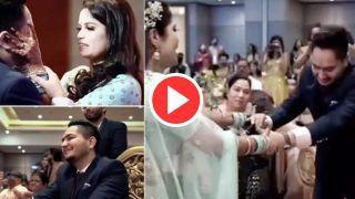 Bride Groom Video: शादी में दुल्हन ने किया ऐसा डांस, देखकर आंसू नहीं रोक पाया दूल्हा | Viral रहा ये Video