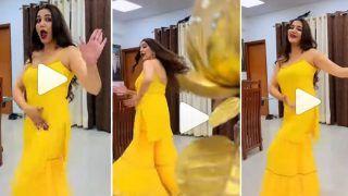 Sapna Choudhary Ka Dance: पीले रंग की ड्रेस में सपना चौधरी ने किया ऐसा हाहाकारी डांस, देखने के लिए टूट पड़े लोग | Video हुआ Viral