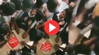Ladka Ladki Ka Video: लड़की को बर्थडे केक खिला रहा था लड़का, पर हो गया कुछ ऐसा पेट पकड़कर हसेंगे  | Viral हुआ वीडियो