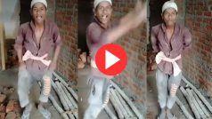 Mazdoor Ka Dance: जब दिहाड़ी मजदूर ने किया ऐसा हाहाकारी डांस, देखकर हिल जाएंगे | Video हुआ Viral