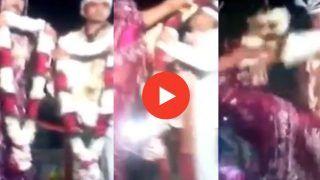 Dulha Dulhan Ka Video: अचानक स्टेज पर कूदने लगी दुल्हन, पर फिर जो हुआ देखकर यकीन नहीं करेंगे | Viral हो रहा वीडियो