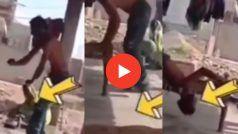 Funny Video: चारपाई पर शीर्षासन कर रहा था शख्स, पर उसके बाद जो हुआ यकीन नहीं होगा | देखिए वीडियो