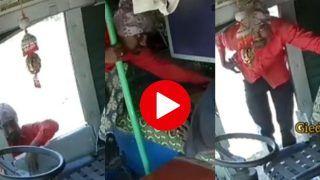 Chor Ka Video: आराम से ट्रक के केबिन में सोता रहा ड्राइवर, चोर आया और सबकुछ उड़ाकर ले गया | देखिए वीडियो