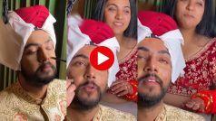 Delhe Ka Makeup: सबको हटाकर खुद मेकअप कराने बैठ गया दूल्हा, दुल्हन से बोला- तू ऐसे ही आ जइयो | देखिए ये मजेदार Video