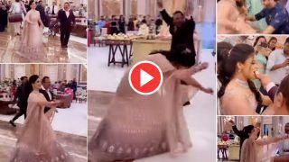 Dulha Dulhan Ka Video: दुल्हन ने अपनी ही शादी में मारी हाहाकारी एंट्री, स्टेज पर खड़ा दूल्हा भी दौड़ा चला आया | देखिए वीडियो