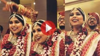 Bride Groom Video: शादी में अपनी खुशी ना छिपा पाई दुल्हन, फिर दूल्हे के सामने जो किया हंसी नहीं रुकेगी | Viral हो रहा ये Video