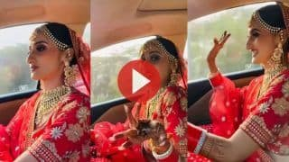 Dulhan Ka Video: दूल्हे को देखने के लिए इतनी एक्साइटेड हुई दुल्हन, ड्राइवर को उतारा और खुद ही दौड़ा दी कार | देखिए ये वीडियो