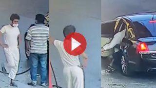 पहले कार में Petrol फुल करवाया, फिर कर्मचारी को भी किडनैप कर ले गए | Viral हो रहा ये Video