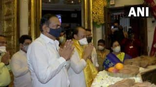 Maharashtra's Religious Places Reopen Today, Deputy CM Pawar Offers Prayers at Siddhi Vinayak Temple