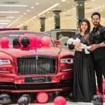 Husband Surprises Wife With Her Dream Car, Gifts Rs 3 Crore Rolls Royce on Her Birthday | Watch