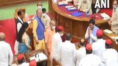 UP: BJP समर्थित बागी सपा विधायक नितिन अग्रवाल बड़े अंतर से यूपी विधानसभा के उपाध्यक्ष चुने गए, CM योगी ने SP पर हमला किया