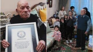 112-Year-Old Great-Grandfather From Spain Certified As World's Oldest Living Man by Guinness World Records   Watch