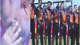 T20 World Cup 2021, OMAN vs PNG: बीच मैदान रो पड़े Papua New Guinea के खिलाड़ी, वजह कर देगी इमोशनल