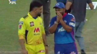 IPL 2021: MS Dhoni-Rishabh Pant's Bromance Ahead of DC vs CSK in Dubai Goes Viral | WATCH VIDEO