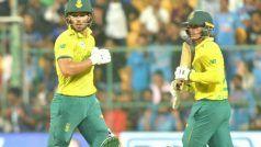 LIVE Score Updates SA vs WI, T20 World Cup 2021: वेस्टइंडीज के खिलाफ टॉस जीतकर पहले गेंदबाजी करेगी दक्षिण अफ्रीका
