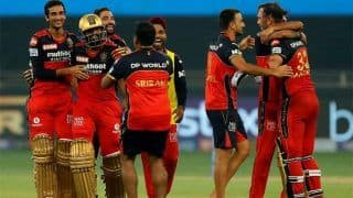IPL 2021- RCB vs DC Match Report and Highlights: बैंगलोर की जीत में चमके Srikar Bharat और Glenn Maxwell