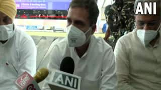 'What Kind Of Permission': Rahul Gandhi Alleges Not Being Allowed To Go Out Of Lucknow Airport