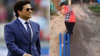 Cricket Viral Video: नन्हें बच्चे की शानदार लेग स्पिन के मुरीद हुए सचिन तेंदुलकर, वीडियो शेयर कर कहा-ये तो...