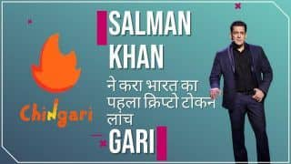 Salman Khan Launches India's First Crypto Token $GARI, Watch Video To Know More About GARI
