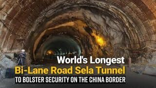 Sela Tunnel in Arunachal To Bolster Security on China Border; All About Sela Tunnel, World's Longest Bi-Lane Tunnel Above 13,000 Ft | Watch