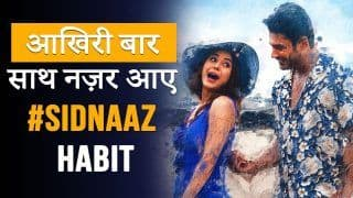 Habit Song: Unfinished Song Of Siddharth Shukla And Shehnaaz Gill Is Finally Out, Fan Says,