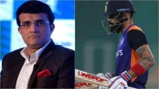 I Was Surprised: Ganguly on Kohli's Decision to Give up T20 Captaincy
