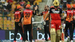 IPL 2021 Today Match Report, RCB vs SRH 2021 Scorecard: SunRisers Hyderabad Stun Virat Kohli-Led Royal Challengers Bangalore by 4 Runs, Dent Their Chances For Top-Two Finish