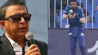 Hardik Pandya का बॉलिंग नहीं करना टीम इंडिया के लिए बड़ा झटका: Sunil Gavaskar