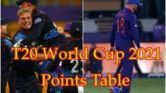 T20 World Cup 2021 Points Table: भारत से आगे निकला Namibia, जानिए क्या कहता है समीकरण?