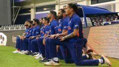 टीम मैनेजमेंट से आदेश मिलने के बाद पाकिस्तान के खिलाफ मैच से पहले घुटने के बल बैठे थे भारतीय खिलाड़ी: Kohli