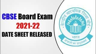 CBSE Board Exams 2021-22 Term I Date Sheet OUT: Step-by-Step Guide, Direct Link to Download Class 10, 12 Time Table