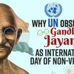 Why UN Observes Gandhi Jayanti, October 2 as International Day of Non-Violence, Explained