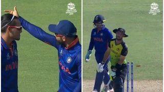T20 WC: How Virat Kohli's Advice Helped Rahul Chahar Dismiss Glenn Maxwell During Ind vs Aus Warm-up Game | WATCH VIDEO
