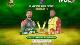 WI vs BAN Dream11 Team Prediction, Fantasy Hints T20 World Cup 2021 Match 23: Captain, Vice-Captain And Probable Playing 11s - West Indies vs Bangladesh, Team News For Today's Group 1 T20 Match at Sharjah Cricket Stadium at 3:30 PM IST October 29 Friday