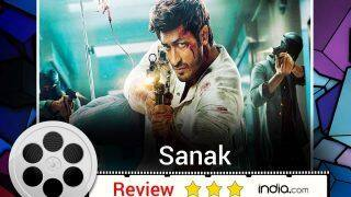 Sanak Movie Review: Vidyut Jammwal Shines Brightest in The Film Strictly For Action Lovers!