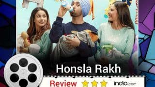 Honsla Rakh Review: Shehnaaz Gill-Diljit Dosanjh's Film Has an Unplanned Child, But Planned Laughter And a Lot of Entertainment!