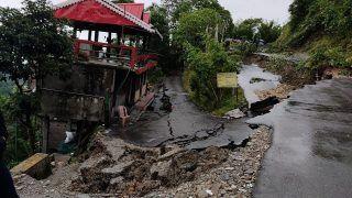 Heavy Rains Trigger Multiple Landslides in Darjeeling, Several Highways, Roads Blocked
