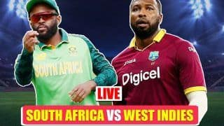 Highlights SA vs WI T20 World Cup 2021: Makram Fifty Helps South Africa Beat West Indies By 8 Wickets