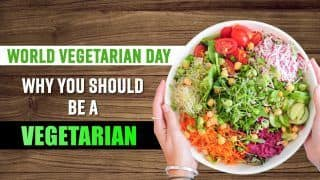 Why Turning Into A Vegetarian Can Be A Good Option, Find Out   Watch Video