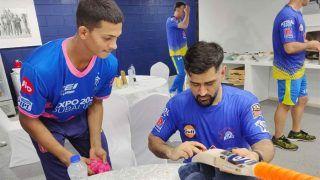 IPL 2021- MS Dhoni की इस अदा पर फिदा हुए Yashasvi Jaiswal, बोले- बहुत खुश हूं