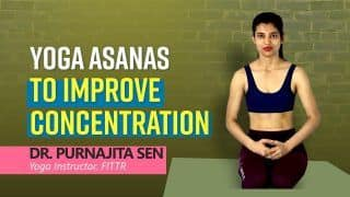 Are You Facing Trouble In Concentrating? Do These Yoga Poses for Improving Your Concentration   Watch Video