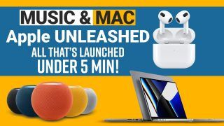 Apple Unleashed Event: Apple Music Voice Plan, HomePod Mini Launched| Price, Features Revealed