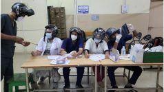 Treatment in Helmets: हेल्मेट पहनकर मरीजों का इलाज कर रहे इस अस्पताल के डॉक्टर, वजह बेहद खास है