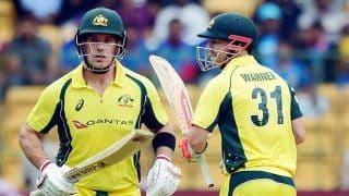 Finch Wants Warner to Open During T20 World Cup Despite Woeful IPL Form