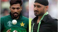 T20 World Cup 2021: Harbhajan Singh ने Mohammad Amir को दिलाई 'स्पॉट फिक्सिंग' की याद, कहा- चल दफा हो