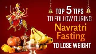 Navratri 2021: Top 5 Tips to Follow During Navratri Fasting To Lose Weight | Watch Video