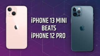 iPhone 13 Mini Vs iPhone 12 Pro: Which One Performs Better? Watch Video to Find Out