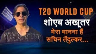 Who will win T20 World Cup 2021 India Vs Pakistan? If Sachin Was Born Today he Would Have Scored 1 Lakh Runs Says Shoaib Akhtar | WATCH