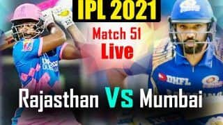RR vs MI Highlights IPL 2021 Match Updates: Coulter-Nile, Neesham Guide Mumbai Indians to Dominating Win Over Rajasthan Royals